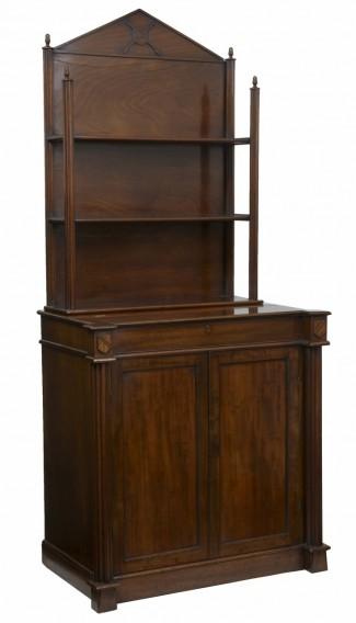 Mahogany writing cabinet