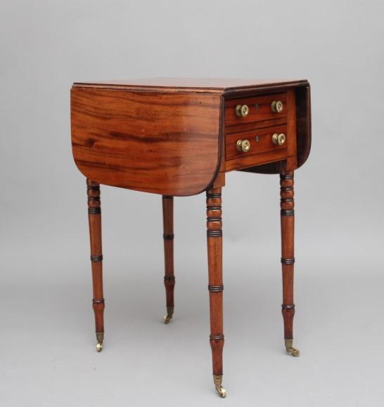 19th Century Mahogany Drop Leaf Table Martlesham Antiques